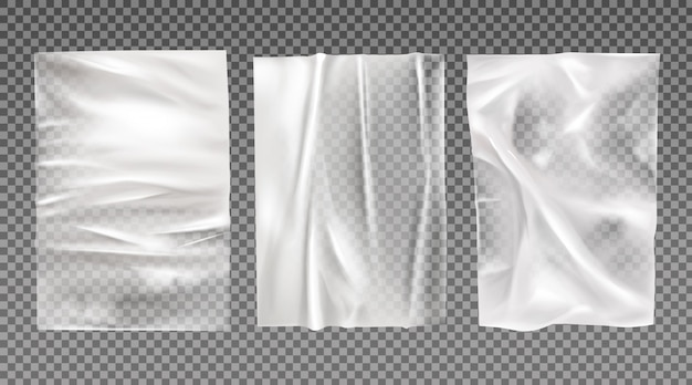 Weiße nasse papiere eingestellt