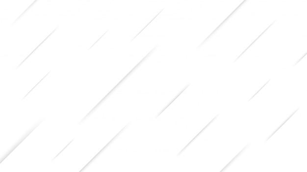 Weiße und graue farbverlaufsstreifen dynamische formkomposition.