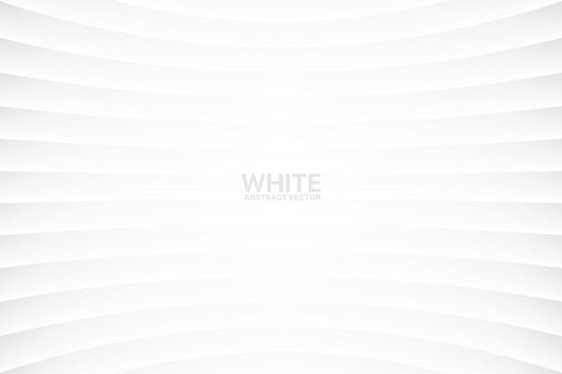 Weißer abstrakter geometrischer einfacher hintergrund