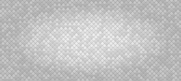 Weißer abstrakter geometrischer hintergrund aus kleinen polyedern mit farbeinsätzen