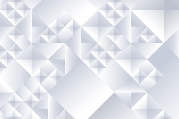Weißer abstrakter hintergrund im konzept 3d