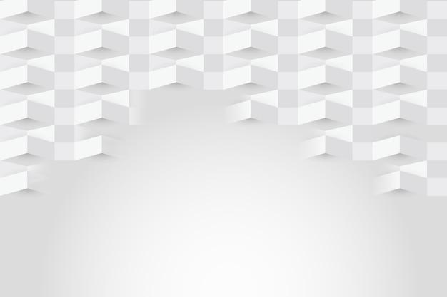Weißer abstrakter hintergrund in der papierart