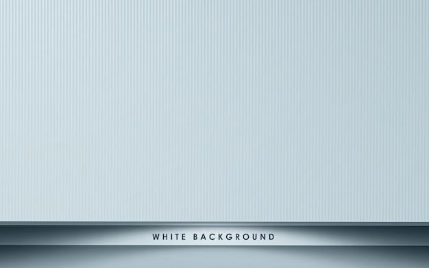 Weißer abstrakter hintergrund mit überlappungsebenen
