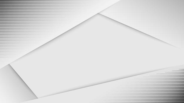 Weißer abstrakter hintergrund. weißes graues hintergrundvektordesign.