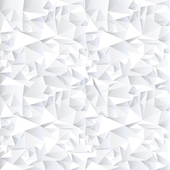Weißer abstrakter kristallhintergrund
