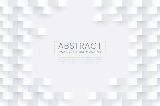 Weißer abstrakter papierarthintergrund