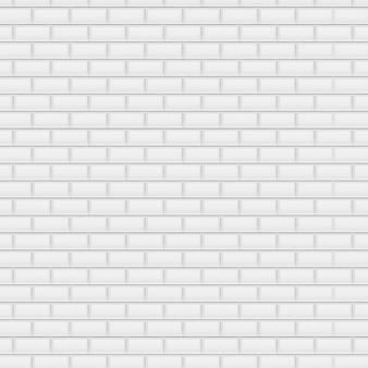 Weißer backstein hintergrund