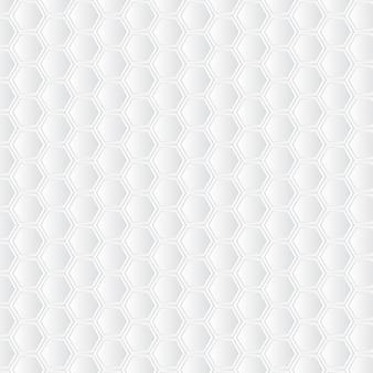 Weißer bienenwabenhintergrund