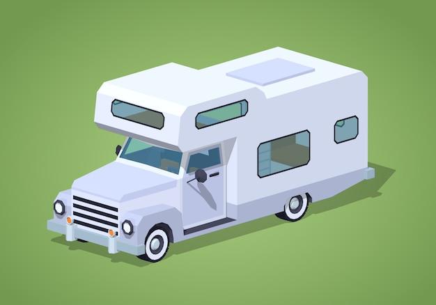 Weißer camper