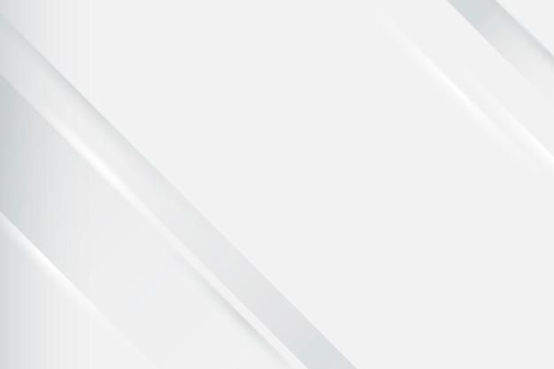 Weißer desktop-hintergrund, moderner minimalistischer designvektor