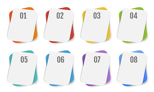 Weißer hintergrund der infografik-fahnenschablone mit farbverlaufsnetz, illustration