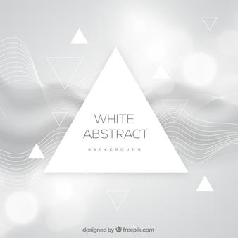 Weißer Hintergrund mit abstraktem Design