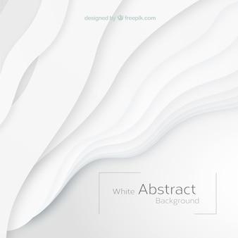 Weißer hintergrund mit abstrakten formen