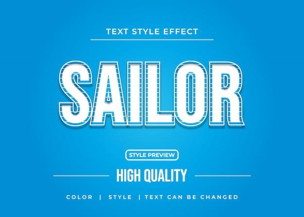 Weißer moderner texteffekt mit gestreiftem stil