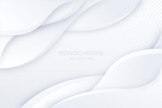 Weißer monochromer hintergrund mit farbverlauf