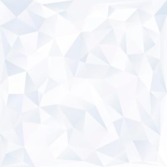 Weißer prismenhintergrund-designvektor
