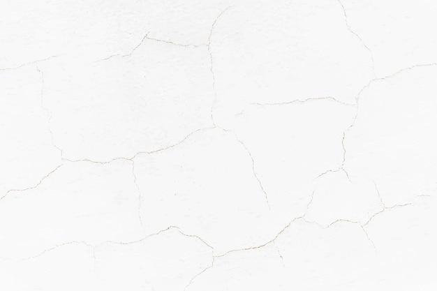 Weißer rissiger wandhintergrund
