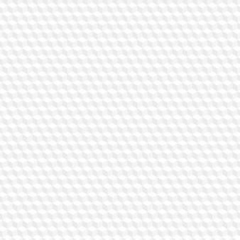 Weißer sechseck nahtloser musterhintergrund