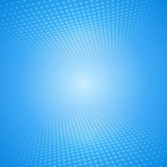 Weißer und blauer abstrakter hintergrund mit quadraten