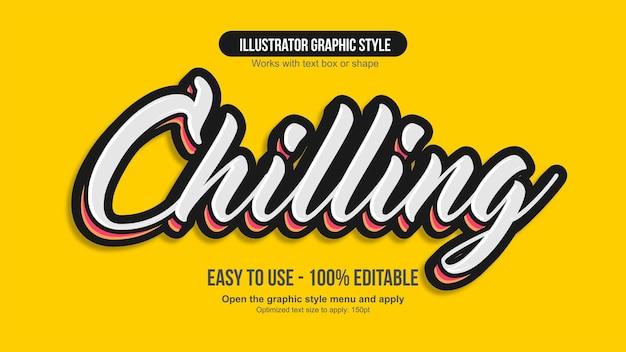 Weißer und gelber moderner editale-kalligraphie-effekt