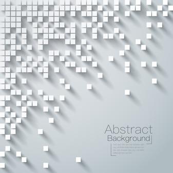 Weißer und grauer abstrakter hintergrund