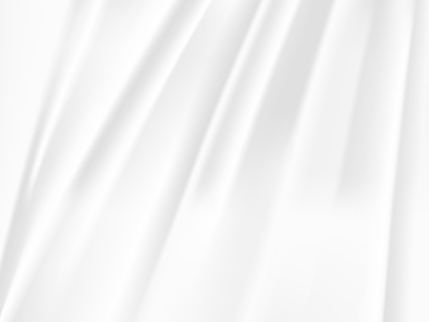 Weißer und grauer tonhintergrund der abstrakten welle