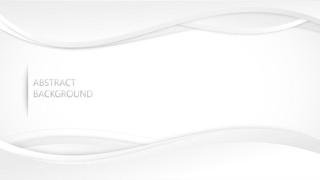 Weißes graues hintergrundvektordesign.