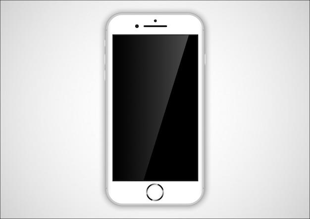 Weißes telefon