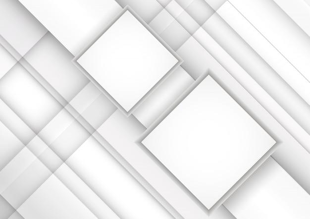 Weißgraue streifen. abstrakter hintergrund der geometrischen technologie.