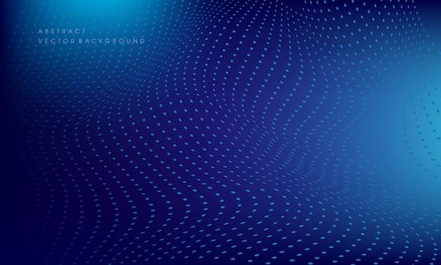 Wellenförmige vektor hintergrund