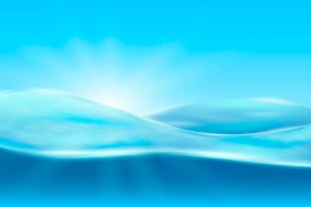 Wellenförmiger formhintergrund