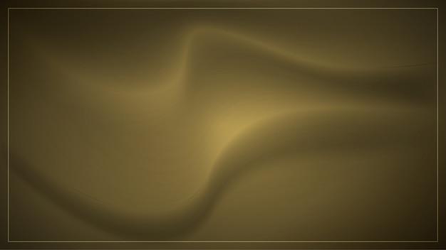 Wellenförmiger goldraumhintergrund