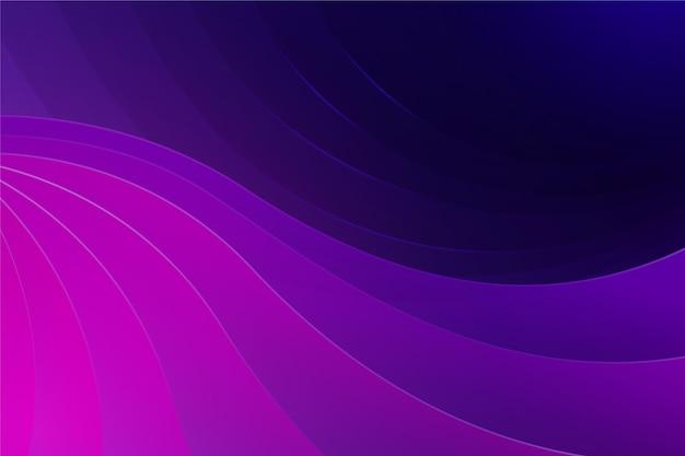 Wellenförmiger hintergrund der rosa und lila schattierungen