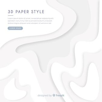 Wellenförmiger papiereffekthintergrund