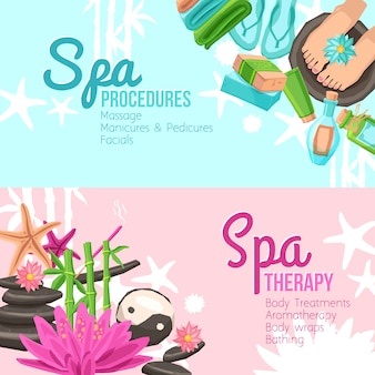 Wellness-banner-set