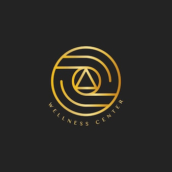 Wellness-center-design-logo-vektor