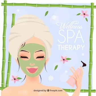 Wellness-spa-therapie-hintergrund