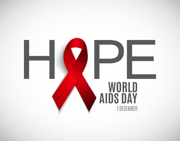 Welt-aids-tag hintergrund