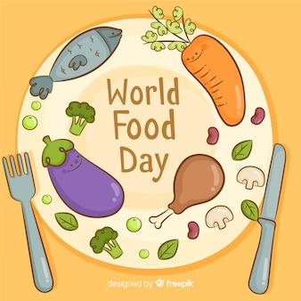 Welt-food-tag-hintergrund-konzept