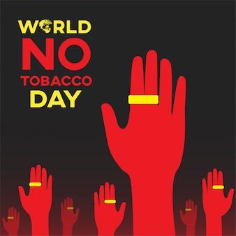 Welt kein tabak tag