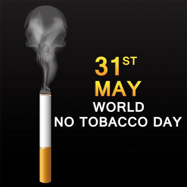 Welt keine tabak tag banner