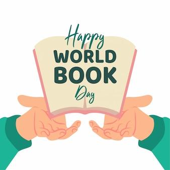 Weltbuchtag illustration