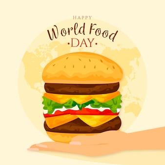 Welternährungstag illustration