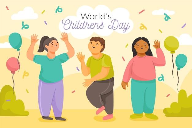 Weltfest zum kindertag