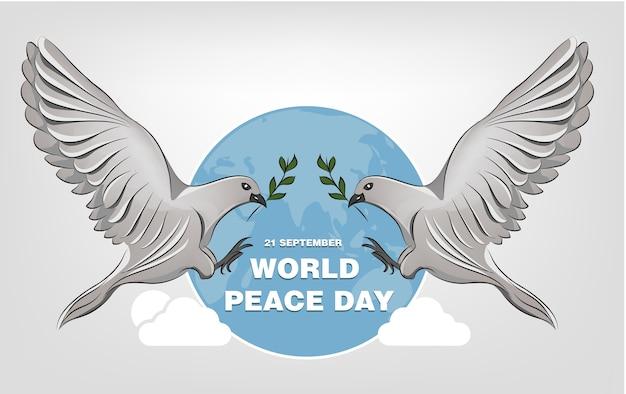 Weltfriedenstag hintergrund