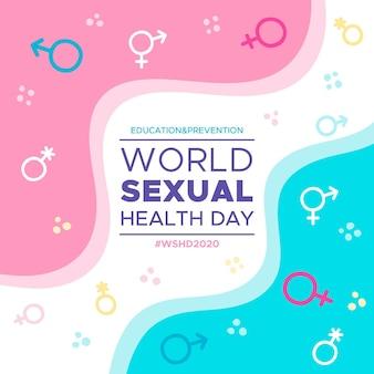Weltkonzept zum tag der sexuellen gesundheit