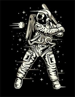 Weltraum baseball