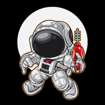 Weltraum-ranger-tanz