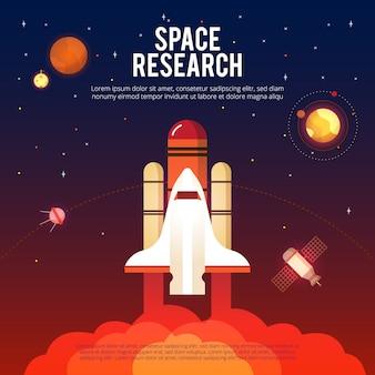 Weltraumforschung und erforschung
