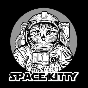 Weltraumkatzenkätzchen